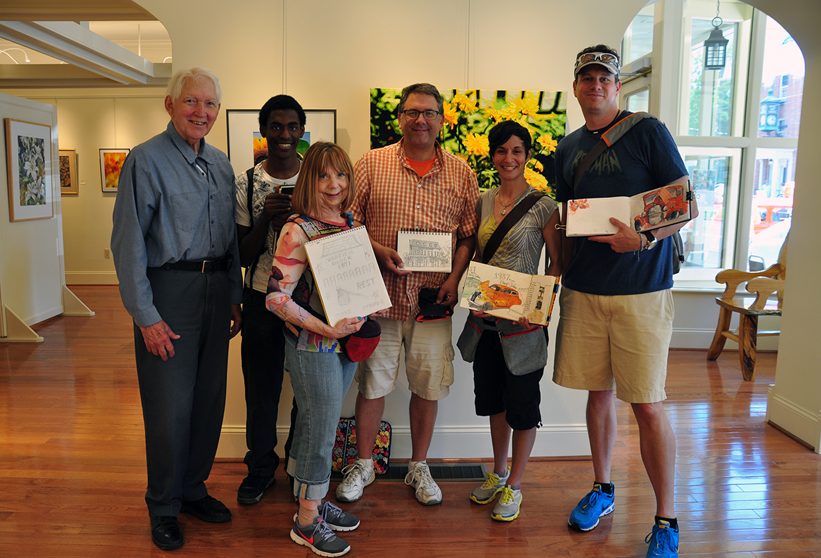 Members of the Rochester Sketch Group