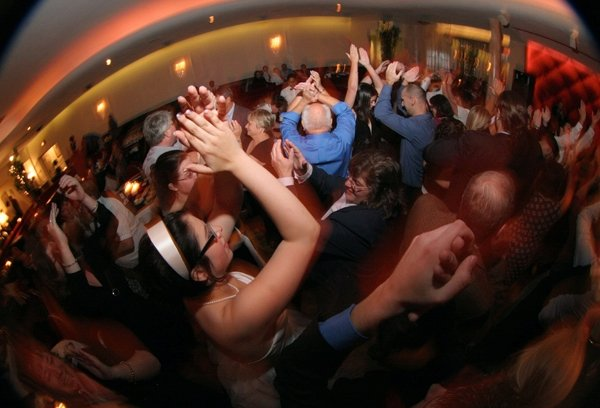 The dance floor at our wedding in 2007.
