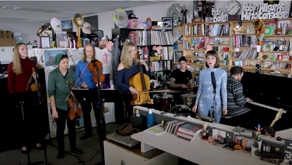 Meg Myers NPR Tiny Desk concert on YouTube