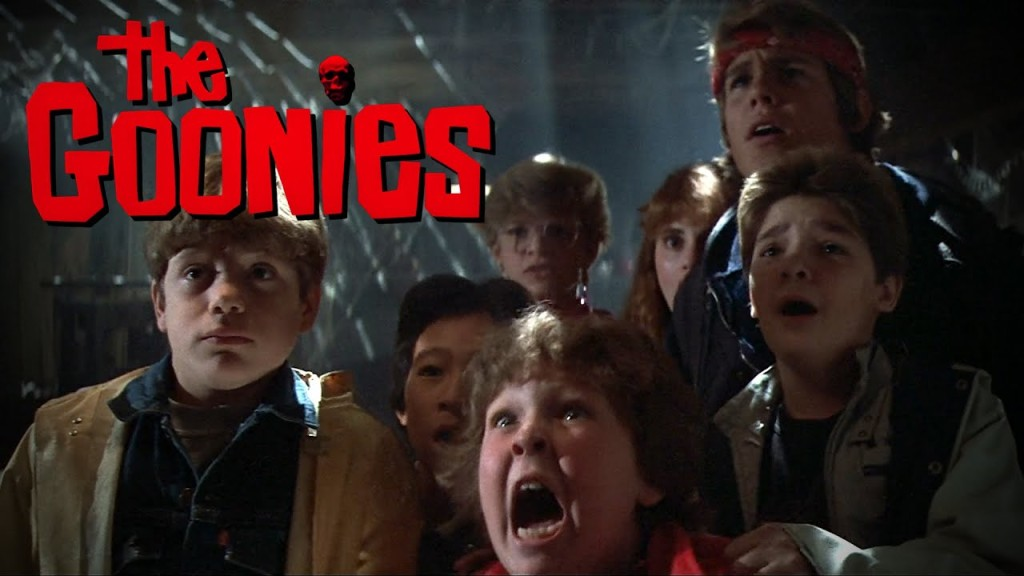 I can remember the first time I saw The Goonies in the late '80s in my living room