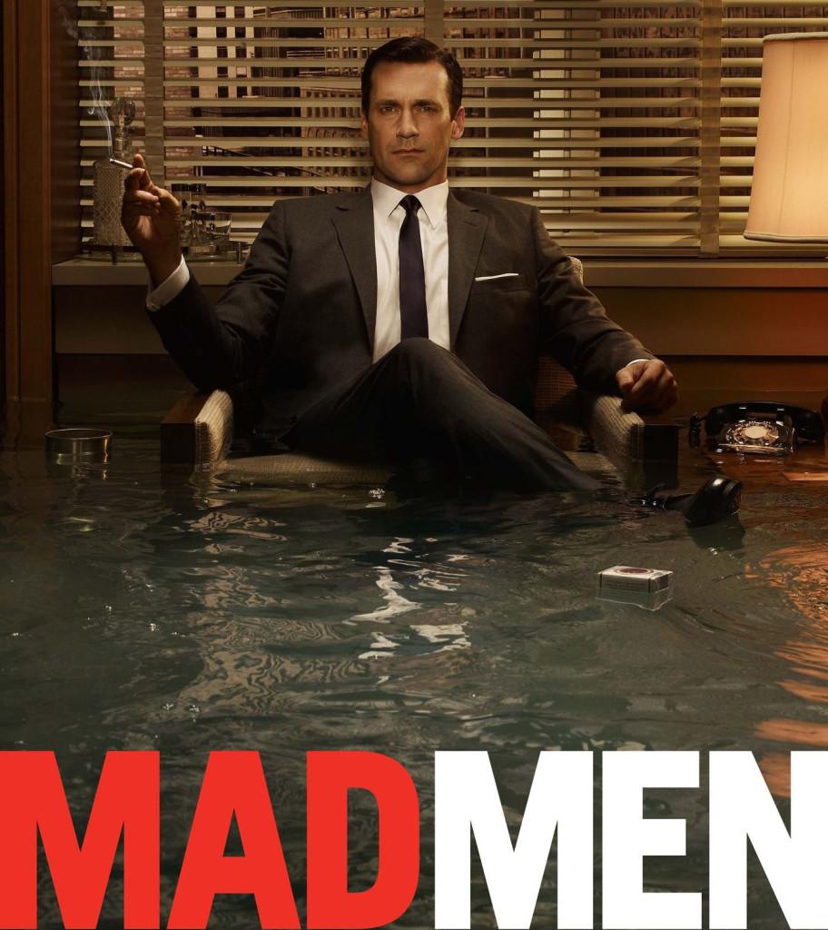 John Hamm as Don Draper on Mad Men