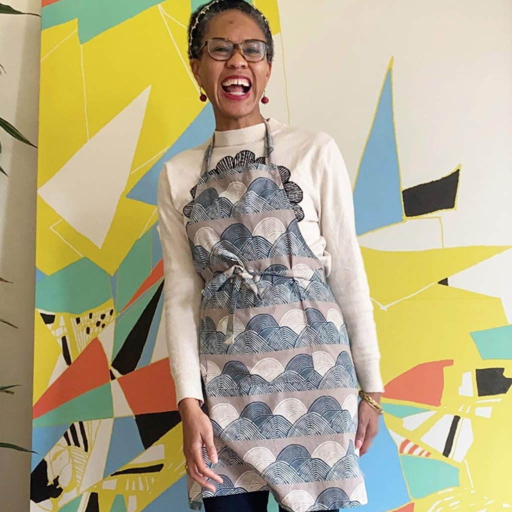 Fabric designer Jen Hewett