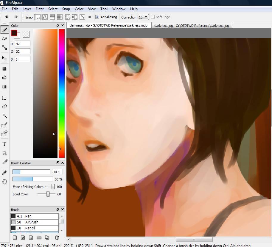 Amanda Lai digital painting