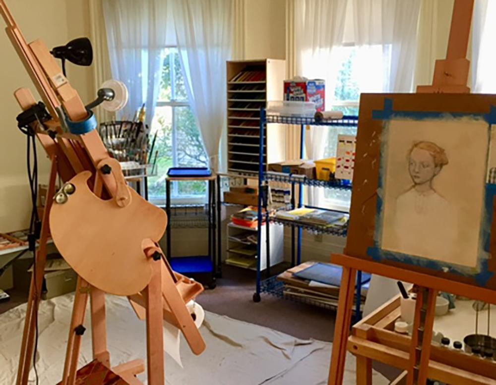 Michell Guerra's Canandaigua, NY studio