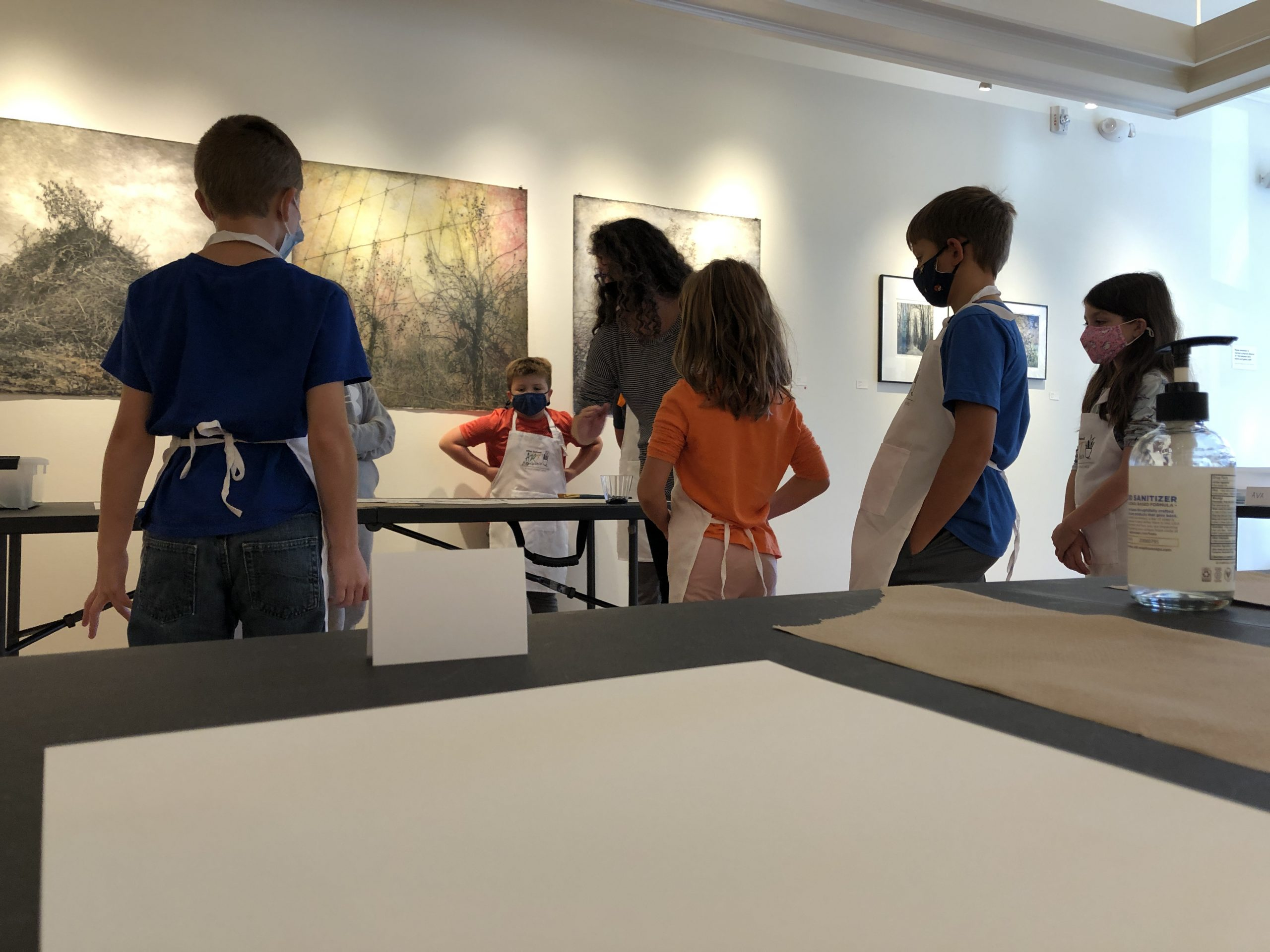 After School Art in session at Main Street Arts