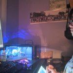 Amanda Lai in her studio