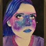 Student Painting Competition 2017: Self Portraits