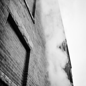 "Rebecca Strohm's photograph ""Smoked Up"" in the Adrift exhibition"