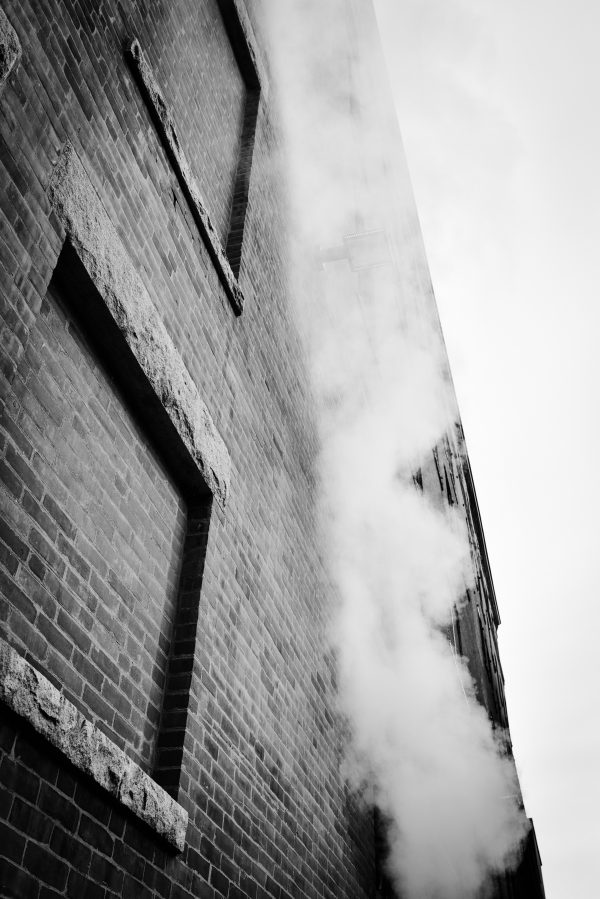 """Rebecca Strohm's photograph """"Smoked Up"""" in the Adrift exhibition"""