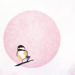 Chris Charles' Chickadee Print