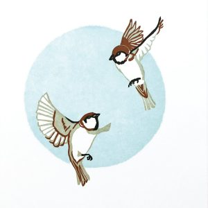 ChrisCharles' Sparrows Print