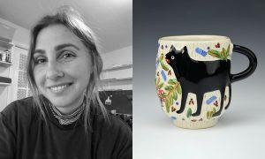 Senta Achee, ceramic artist included in The Cup, The Mug