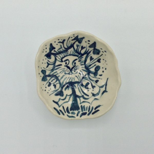 """""""Doodle Bowl"""" (lion) by Victoria Savka"""