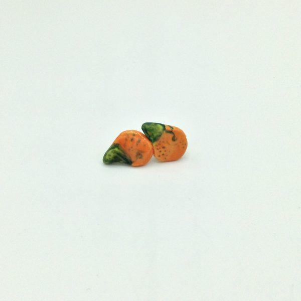 """Orange Earring"" by Victoria Savka"
