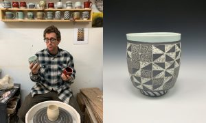 Bobby Free, ceramic artist included in The Cup, The Mug