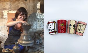 Christina Erives, ceramic artist included in The Cup, The Mug