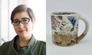 Esther Mech, ceramic artist included in The Cup, The Mug