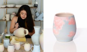 Hedy Yang, ceramic artist included in The Cup, The Mug