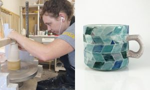 Jessi Maddocks, ceramic artist included in The Cup, The Mug