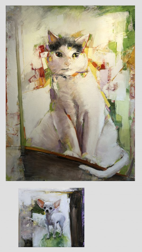Joy Adams - The Grande Cat and the Little Dog
