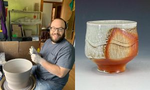 Levi Yastrow, ceramic artist included in The Cup, The Mug