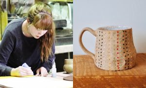 Mandy Ranck, ceramic artist included in The Cup, The Mug