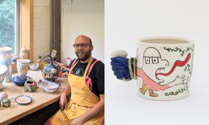 Mark Vander Heide, ceramic artist included in The Cup, The Mug