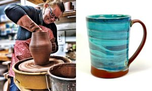 Sara Truman, ceramic artist included in The Cup, The Mug