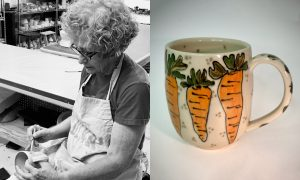 Virginia Bacheler, ceramic artist included in The Cup, The Mug