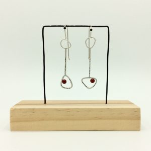 Loraine Cooley - Long Wobbly Ovals Earrings