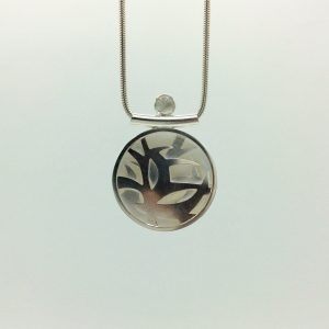 Loraine Cooley - Moon Over the Forest Necklace